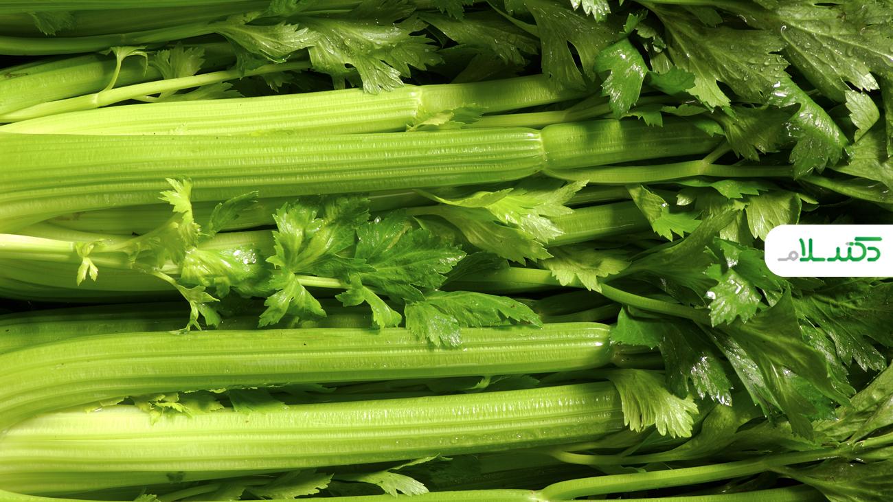 مزایای افزودن کرفس به رژیم غذایی