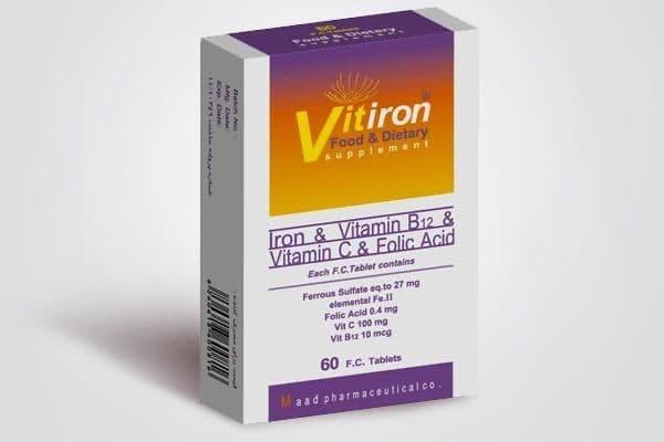 ویتایرون؛ مکملی برای کم خونی