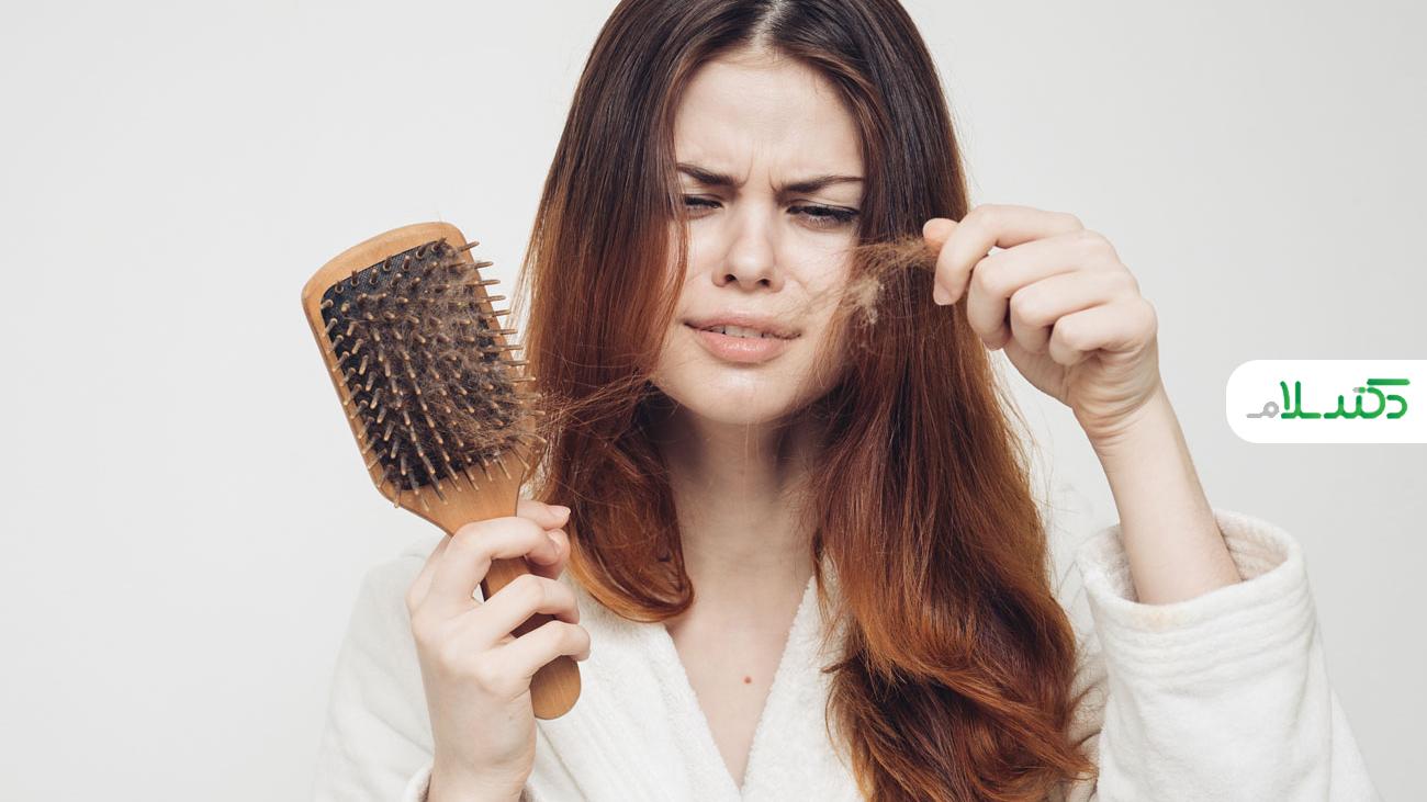 چگونه ریزش مو را درمان کنیم؟