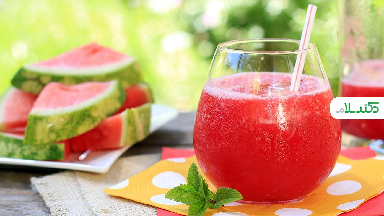مزایای نوشیدن آب هندوانه برای سلامتی