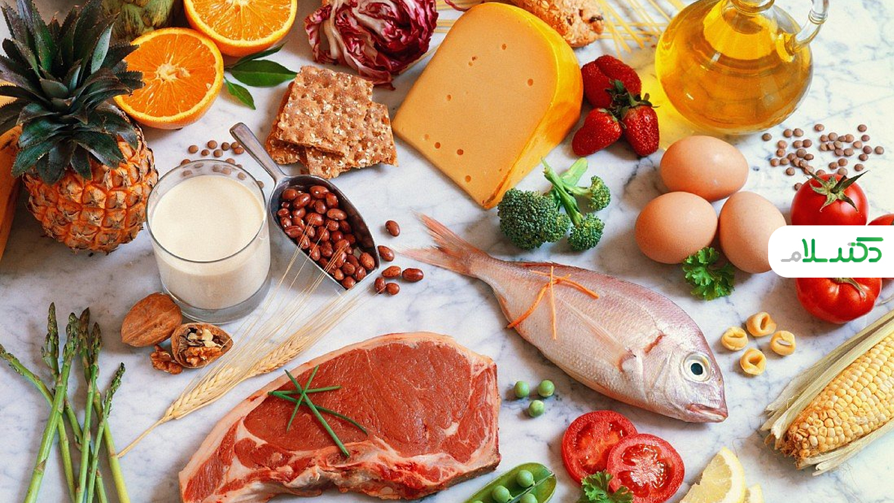لیست مواد غذایی که راحت هضم می شوند