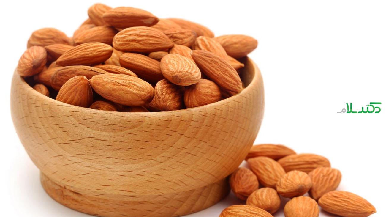 فواید بادام برای سلامتی