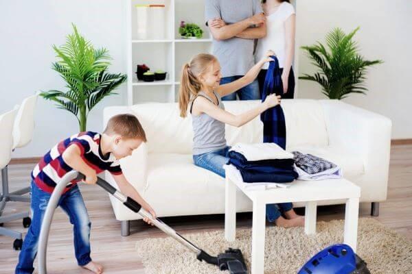 تمیز کردن اتاق در 30 دقیقه
